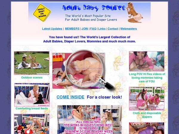 Adult Baby Source Buy Credits