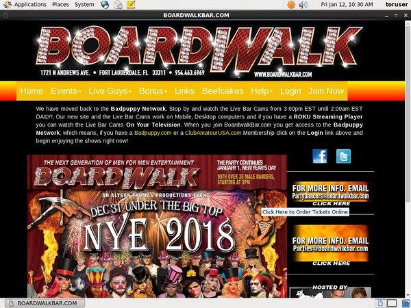 Boardwalkbar Discreet