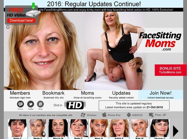 Get Free Facesittingmoms.com Passwords