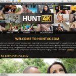 Hunt 4k Con Deposito Bancario