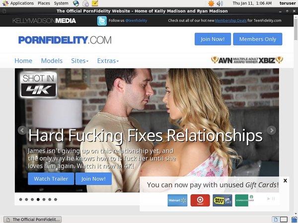 Pornfidelity.com Account And Passwords