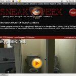 Sneaky Peek 구독하기