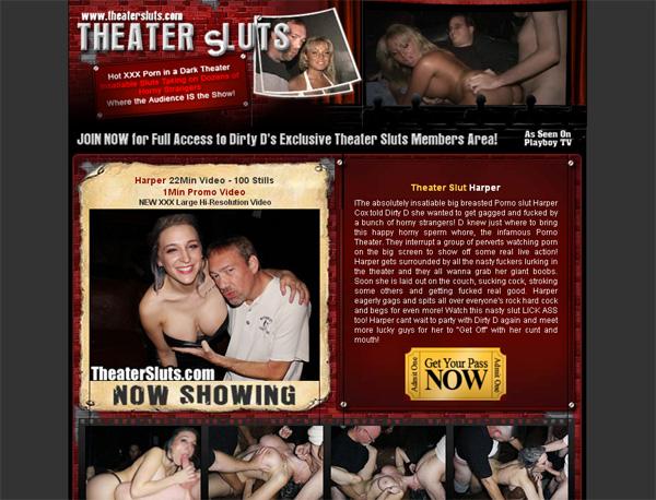 Theatersluts.com Promo Codes