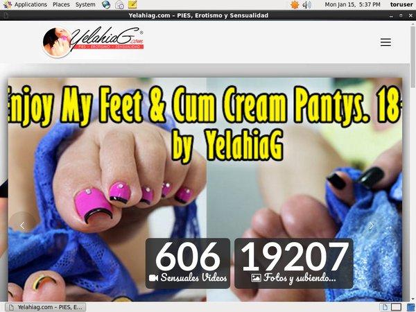 Yelahia G 신용 카드