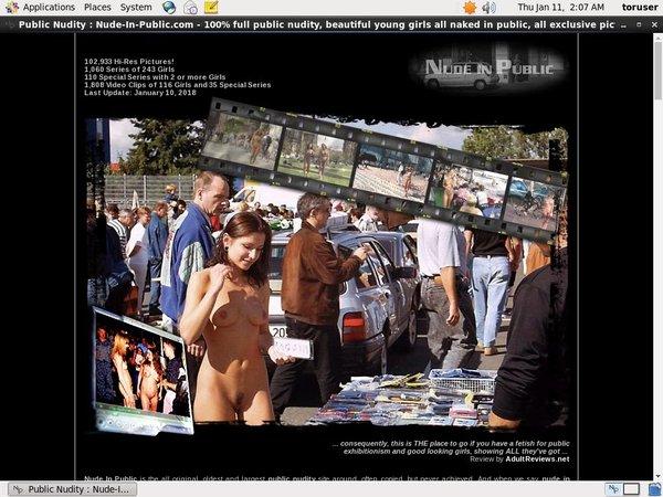 Nude In Public Con