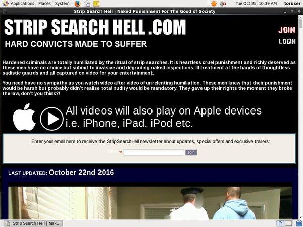 Strip Search Hell Premium Login