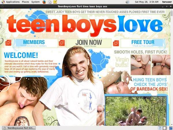 Teenboyslove.com Home Page